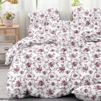 Bed set with continental quilt 230x250 crepe MH51