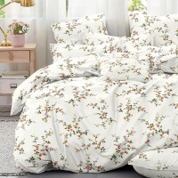 Bed set with continental quilt 230x250 crepe MH59