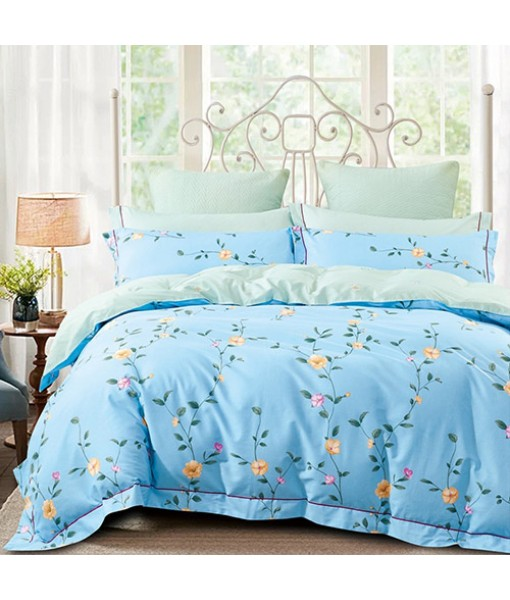 Bed set with and continental quilt 180x220 ranforce MK27