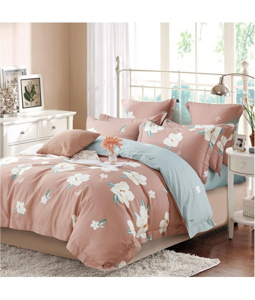 Bed set with and continental quilt 180x220 ranforce MK68