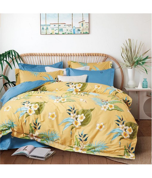 Bed set with and continental quilt 180x220 ranforce MK72