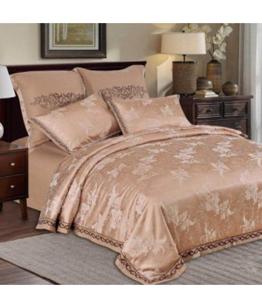 Bed set satin cotton extra with embroidery MO05