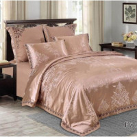 Bed set satin cotton extra with embroidery MO06
