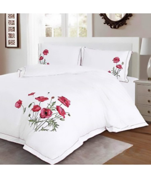 Bed set satin cotton extra with embroidery MO02